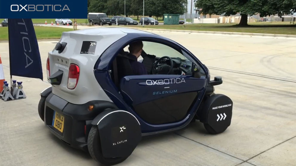 Driverless car trials to take place in Milton Keynes
