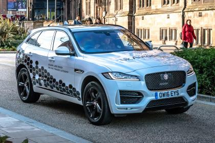 Jaguar Land Rover trials self-parking cars